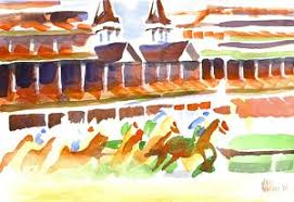 churchill downs paintings america