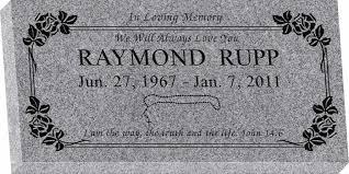 grave marker designs 24 x 12 x 3 flat granite headstone honor