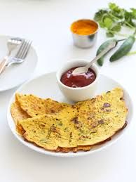 classic savory indian chickpea flour pancakes recipe