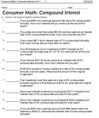 math word problems interest wages shopping and money in words
