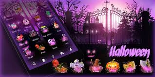 halloween themed keyboard background halloween go launcher theme android apps on google play