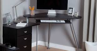 Smallest Computer Desk Unique Image Of Glass Computer Desk With Storage Photograph Of
