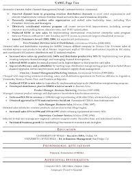 senior executive resume samples gallery creawizard com