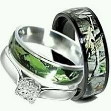 camo wedding rings his and hers his and s matching mossy oak duck blind camo wedding ring set