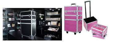traveling makeup artist product occasion display joligrace