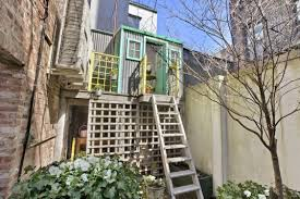 Nyc Backyard Charming Nyc Townhouse Comes With Its Own Treehouse Inhabitat