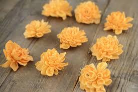 sola flowers sola flowers orange dahlias