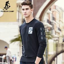 aliexpress com buy pioneer camp brand hoodies men fashion black