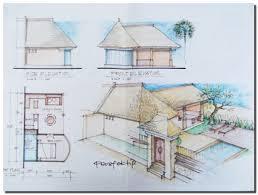 villa plan bali villa designs initial design custom design bali