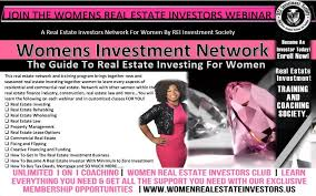 women u0027s real estate investors club real estate investing for