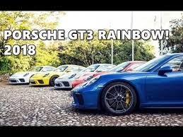 porsche gt3 colors 2018 porsche 911 gt3 in all colors