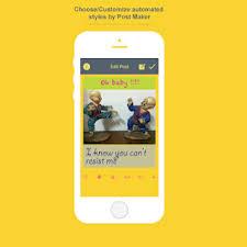 Meme Maker Android App - poster maker meme creator android apps on google play