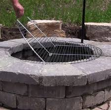 Backyard Fire Ring by Get 20 Fire Pit Grill Grate Ideas On Pinterest Without Signing Up