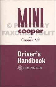 1970 1971 mini cooper s mark iii owner u0027s manual reprint