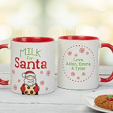 personalized christmas mug milk for santa christmas gifts