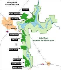 lake mead map wilderness lake mead national recreation area u s national