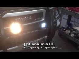 2007 toyota fj cruiser ridgid industries led lighting 3030 lumens 35