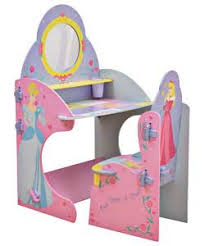 Vanity Table And Stool Set Disney Princess Desk And Chair Beautiful Disney Princess Wooden