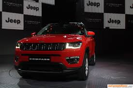 jeep india compass jeep compass launched in india at rs 14 95 lakhs ex showroom delhi