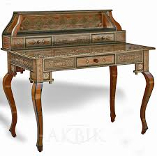 Secretary Desk With Drawers by Mediterranean Levantine U0026 Syrian Furniture Inlaid With Mother Of