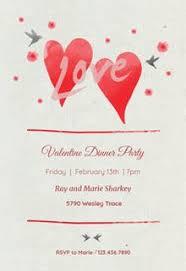 free printable valentine u0027s day invitation templates greetings island