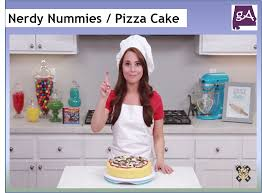 Nerdy Nummies Halloween Cakes Watch Nerdy Nummies Make A Yummy Pizza Cake U2013 Geek Alabama