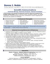 Examples Of A Good Objective For A Resume Examples Of Excellent Resumes Resume Badak