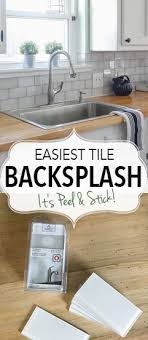 easy kitchen backsplash best 25 easy backsplash ideas on kitchen backsplash