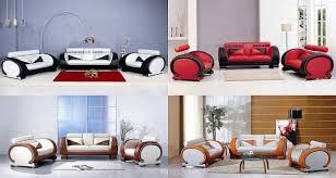 modèle canapé ensemble de canapés en cuir italien 3 1 places roll