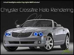 oracle 04 08 chrysler crossfire plasma halo rings headlights bulbs