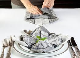 how to make fancy table napkins how to make fancy folded napkins dummies