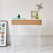 hairpin leg console table hairpin leg console table best of roswell console table with steel