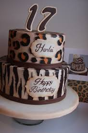 tammy u0027s frosted memories animal print cakes