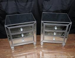 Mirrored Nightstand Sale Decorating Marvelous Mirrored Nightstand For Your Antique Decor