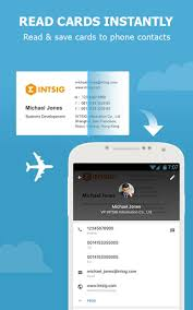 Business Card Reader For Android Camcard Free Business Card Reader Apk Download For Android