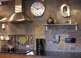 slate tile kitchen backsplash slate tiles for kitchen wall