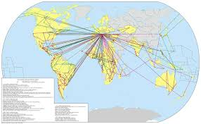 Countries Visited Map List Of Pastoral Visits Of Pope John Paul Ii Outside Italy Wikipedia