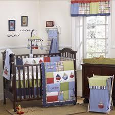 Baby Boy Bedding Sets Amazon Com Cocalo Tug Boat Nursery Collection 6 Piece Crib
