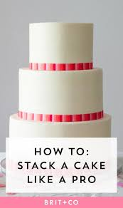 wedding cake tutorial how to stack a wedding cake like a pro tutorials cake and learning