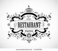 monogram design elements prestige logo designs stock vector