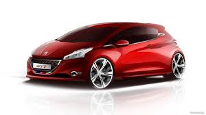 peugeot 208 gti 2013 peugeot 208 gti design sketch hd wallpaper 55