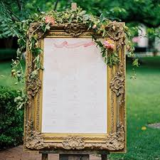 wedding table assignment board escort card and seating chart display ideas brides