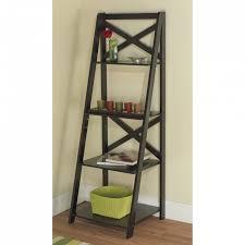 Ladder Shelves Lowes by Bookshelf Marvellous Leaning Bookshelf Ikea Leaning Shelves