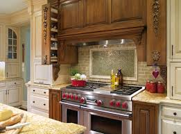 beverage center on the level cooks kitchen with six burner range double oven