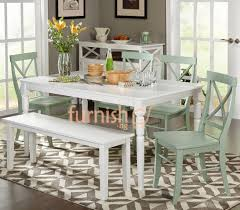 dining room tables with bench 48 most blue ribbon small kitchen table with bench dining and set