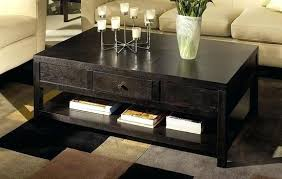 Set Of Tables For Living Room Black Coffee Table Sets Brown Leather Table With Ottoman Sets For