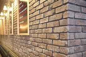 decorative brick walls reclaimed brick look decorative garden wall