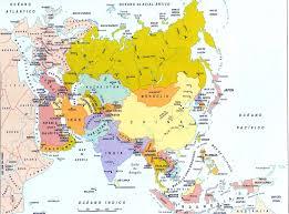 Africa And Asia Map by Mapa Politico De Asia Grande Africa Oceania America Europa Online
