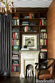 Victorian Bedroom Wall Covering Home Library Design Ideas Pictures Of Home Library Decor