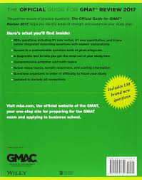 sample gmat essay questions the official guide to the gmat review 2017 bundle question bank the official guide to the gmat review 2017 bundle question bank video gmac graduate management admission council 9781119254683 books amazon ca
